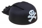 Бандана пирата черная