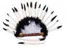 Черно-белое украшение индейца
