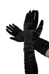 Черные элегантные перчатки