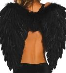 Черные крылья ангела