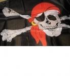 Флаг пиратский большой