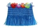 Гавайский топ синий