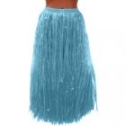 Гавайская юбка голубая