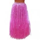 Гавайская юбка розовая