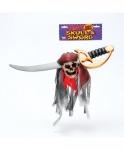 Голова пирата на мече