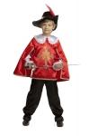 Храбрый мушкетер красный