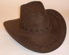 Ковбойская шляпа коричневая