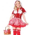 Красная шапочка-модница
