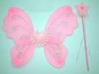 Крылья феи розовые