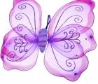 Крылья небесной бабочки фиолетовые