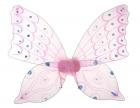 Крылья небесной бабочки розовые