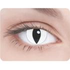 Линзы Кошачий глаз белые