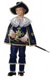 Маленький мушкетер синий