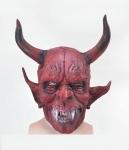 Маска Дьявола с большими рогами