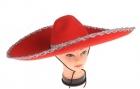 Мексиканская шляпа красная