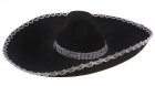 Мексиканская шляпа черная