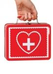 Металлический чемоданчик медсестры