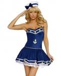 Морячка в голубом