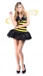 Пчелка в стразах