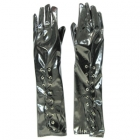 Перчатки виниловые со шнуровкой