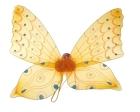 Разноцветные крылья феи желтые