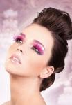 Ресницы Розовые перья
