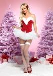 Рождественская фея красная