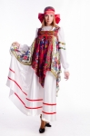 Русский народный с платками