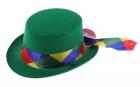 Шляпа зеленая
