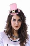 Шляпка Пиратка розовая