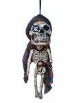 Скелет Пирата висящий