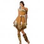 Воинственная индейская женщина